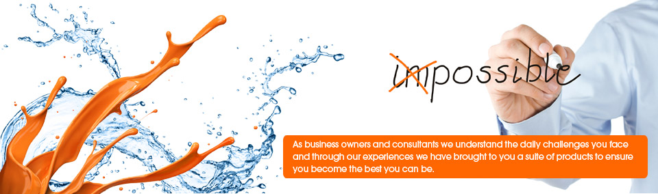 As business owners and consultants we understand the daily challenges you face and through our experiences we have brought to you a suite of products to ensure you become the best you can be.
